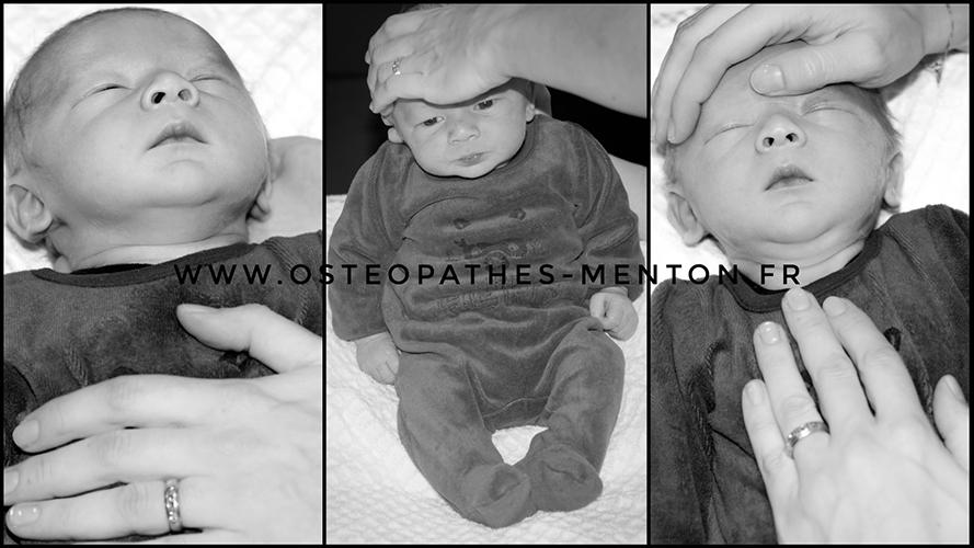 Ostéopathe menton spécialisé bébé